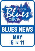 Keeping The Blues Alive brings you Blues News. Week of May 5th to 11th