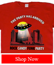 Rock Candy Funk Party Tee 'The Party Has Arrived'