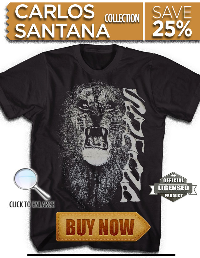 Click Here to check out our Carlos Santana Collection!