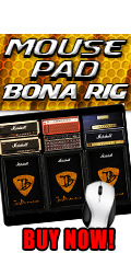 Bonamassa Bona Rig Mouse Pad. Buy Now!