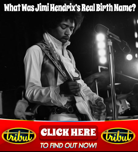 Tribut Apparel, 'When Music Really Matters'. What was Jimi Hendrix's Real Birth Name? Click Here To Find Out.